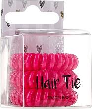 Parfumuri și produse cosmetice Elastice de păr - Cosmetic 2K Hair Tie Pink