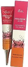 Parfumuri și produse cosmetice Cremă cu acid hialuronic pentru ochi - Ekel Hyaluronic Acid Intensive Eye Cream