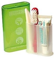 Parfumuri și produse cosmetice Set pentru călătorii cu periuță și pastă de dinți - Curaprox