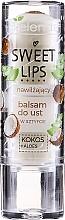 """Parfumuri și produse cosmetice Balsam hidratant pentru buze """"Cocos + Aloe"""" - Bielenda Sweet Lips Moisturizing Lip Balm"""