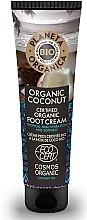 Parfumuri și produse cosmetice Cremă pentru picioare - Planeta Organica Organic Coconut Foot Cream