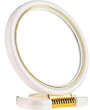 Parfumuri și produse cosmetice Oglindă cosmetică de buzunar, 5022, alb - Top Choice