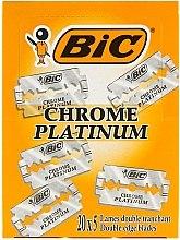 "Parfumuri și produse cosmetice Set aparate de ras ""Chrome Platinum"", 100 buc. - Bic"
