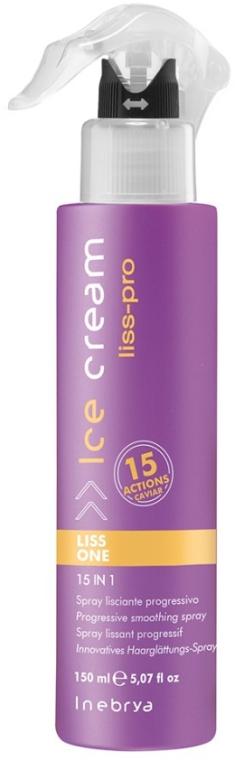 Spray 15 în 1 pentru netezirea părului - Inebrya Ice Cream Liss Perfect Liss One 15in1