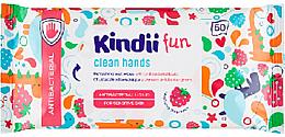 Parfumuri și produse cosmetice Șervețele revigorante antibacteriene - Cleanic Kids Care