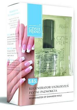 Întăritor pentru unghii - Czyste Piekno Regenerator Of Damaged Nails — Imagine N1