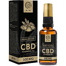Parfumuri și produse cosmetice Ulei natural de jojoba CBD 500mg - Dr. T&J Bio Oil