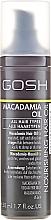 Parfumuri și produse cosmetice Ulei de păr - Gosh Macadamia Oil