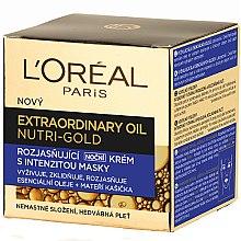 Parfumuri și produse cosmetice Cremă de noapte pentru față - L'Oreal Paris Nutri Gold Extraordinary Oil Night Cream