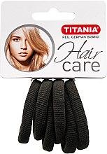 Parfumuri și produse cosmetice Резинка для волос маленькая, серая - Titania
