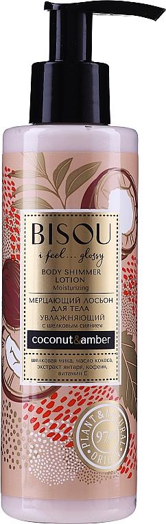 "Loțiune de corp ""Ultrahidratare"" - Bisou Coconat&Amber Body Shimmer Lotion"
