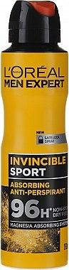 Deodorant-antiperspirant pentru bărbați - L'Oreal Men Expert Invincible Sport Deodorant 96H