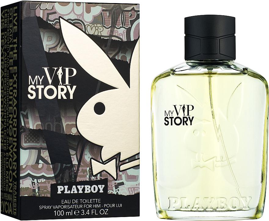Playboy My VIP Story - Apă de toaletă — Imagine N2