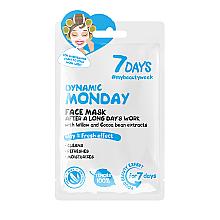 "Parfumuri și produse cosmetice Mască de față ""Dynamic Monday"" - 7 Days Dynamic Monday"