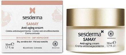 Cremă anti-îmbătrânire pentru față - SesDerma Laboratories Samay Creme Antienvelhecimento — Imagine N2