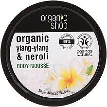 "Parfumuri și produse cosmetice Mousse pentru corp ""Balinese flower"" - Organic Shop Body Mousse Organic Neroli & Frangipani"
