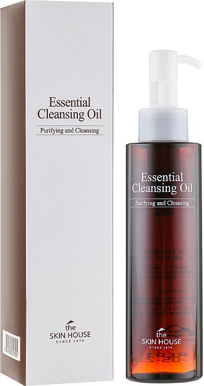 Ulei hidrofil pentru îdepărtarea machiajului - The Skin House Essential Cleansing Oil