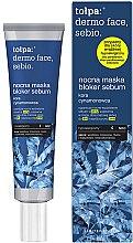 Parfumuri și produse cosmetice Masca de noapte pentru față - Tolpa Dermo Face Sebio Night Blocker Sebum Mask