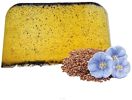 Parfumuri și produse cosmetice Șampon solid cu ulei de in - E-Fiori Solid Hair Shampoo