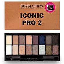Parfumuri și produse cosmetice Paleta fard de ochi, 16 nuanțe - Makeup Revolution Salvation Eyeshadow Palette Iconic Pro 2