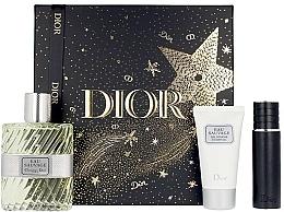 Parfumuri și produse cosmetice Dior Eau Sauvage - Set (edt/100ml + sh/gel/50ml + edt/mini/10ml)