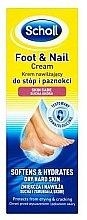 Parfumuri și produse cosmetice Crema pentru picioare - Scholl Moisturizing Foot and Nail Cream