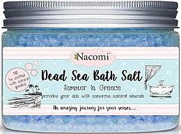 Parfumuri și produse cosmetice Sare de baie de la Marea Moartă pentru cadă cu aromă greacă - Nacomi Natural Greek Dead Sea Salt Bath