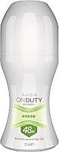 Parfumuri și produse cosmetice Antiperspirant roll-on - Avon On Duty Woman Fresh 48h Anti-Perspirant Roll On
