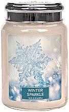 Parfumuri și produse cosmetice Lumânare aromată - Village Candle Winter Sparkle