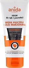 Parfumuri și produse cosmetice Cremă de mâini cu ulei de makadamia - Anida Pharmacy Hand Cream Macadamia Oil