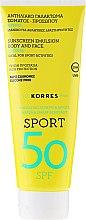Parfumuri și produse cosmetice Emulsie pentru față și corp - Korres Citrus Sport Sunscreen Body & Face Emulsion SPF50