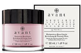 Parfumuri și produse cosmetice Mască revitalizantă pentru fermitatea pielii - Avant Harmonious Rose Quartz Revitalising & Firming Mask