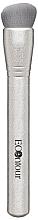 Parfumuri și produse cosmetice Pensulă pentru contouring - Econtour Countouring Brush Premium Silver 03