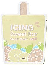 "Parfumuri și produse cosmetice Mască de țesut ""Ananas"" - A'pieu Icing Sweet Bar Sheet Mask"