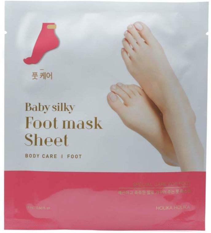Șosete exfoliante pentru picioare - Holika Holika Baby Silky Foot Mask Sheet