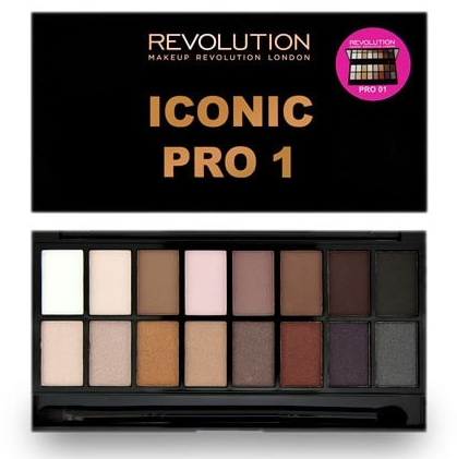 Paleta fard de ochi, 16 nuanțe - Makeup Revolution Salvation Eyeshadow Palette
