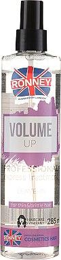 Spray pentru volumul părului slab și subțire - Ronney Volume Up Professional Express Treatment Leave-In — Imagine N1