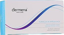 Parfumuri și produse cosmetice Fiole împotriva căderii părului, pentru femei - Dermena Hair Care Ampoules Against Hair Loss