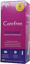 Parfumuri și produse cosmetice Absorbante de fiecare zi, 20 bucăți - Carefree Plus Large