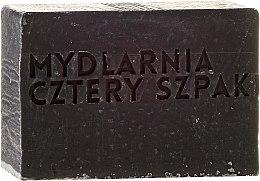 """Săpun """"Cărbune"""" - Cztery Szpaki Soap — Imagine N2"""