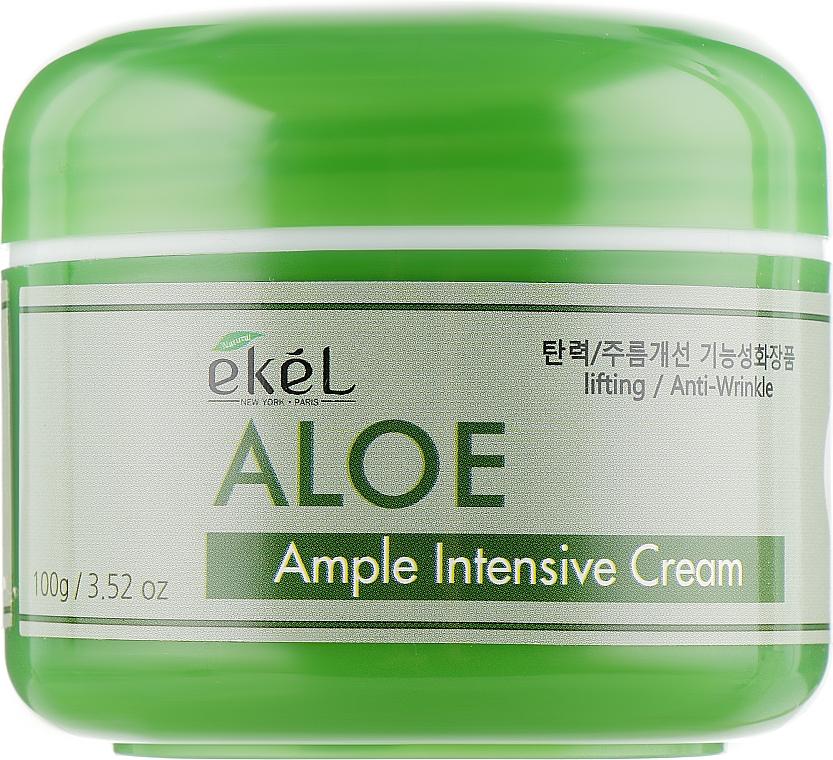 Cremă cu aloe vera pentru față - Ekel Ample Intensive Cream Aloe — Imagine N2