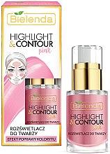 Parfumuri și produse cosmetice Cremă contur pentru față - Bielenda Highlight & Contour