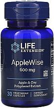 Parfumuri și produse cosmetice Supliment alimentar cu polifenoli din mere - Life Extension Apple Wise, 600 mg
