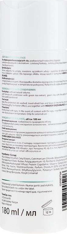 Balsam pentru păr gras - Hegron Green Balance Hair Conditioner — Imagine N2