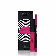 Parfumuri și produse cosmetice Set - Mesauda Milano Lip Kit (lipstick/7ml + lip pen/1.14g) (Donut)