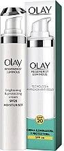 Parfumuri și produse cosmetice Cremă de față SPF 20 - Olay Regenerist Luminous Brightening & Protecting Cream SPF-20