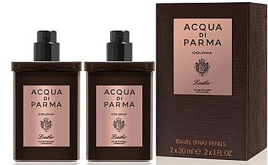 Acqua di Parma Colonia Leather Eau de Cologne Travel Spray Refill - Apă de colonie