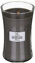 Parfumuri și produse cosmetice Lumânare aromatică - WoodWick Hourglass Candle Black Amber And Citrus