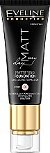 Parfumuri și produse cosmetice Bază pentru machiaj - Eveline Cosmetics Matt My Day Mattifying Foundation