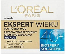 Parfumuri și produse cosmetice Cremă de noapte pentru față - L'Oreal Paris Age Specialist Expert Night Cream 40+